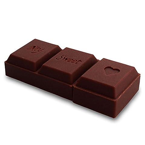Prochive Hi-Speed 16GB 2.0 USB-Stick Schokolade Riegel Liebe 3D