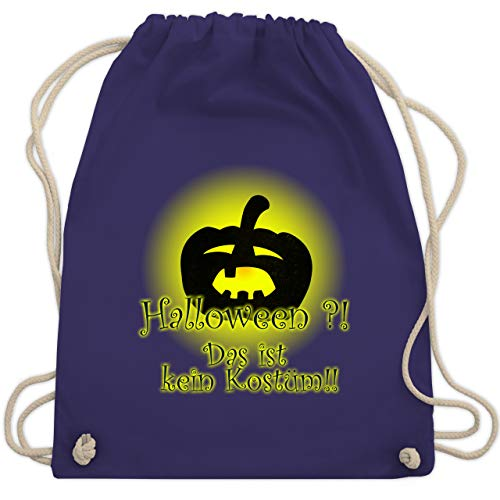 Halloween - Kein Halloweenkostüm - Unisize - Lila - WM110 - Turnbeutel & Gym Bag