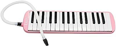 Andoer 32 teclas de Piano Mélodica Mélomanes instrumento de música para llave de regalo con bolsa de transporte
