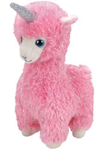 Ty- Beanie Babies 15 cm Peluche, Color Rosa (36282)