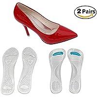 Gel High Heel Kissen zur Schmerzlinderung,3/4 High Heel Einlegesohlen mit Arch Support für Frauen Pump Sandalen... preisvergleich bei billige-tabletten.eu