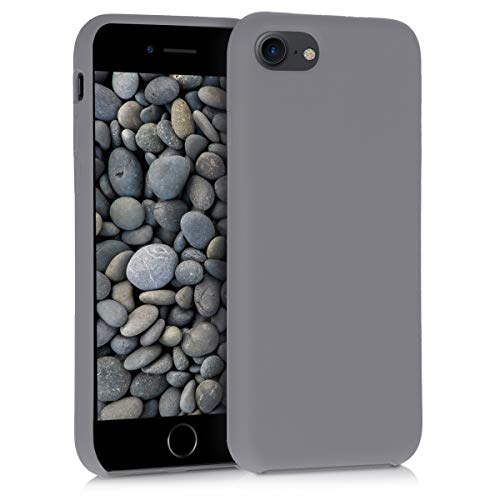 kwmobile Apple iPhone 7/8 Hülle - Handyhülle für Apple iPhone 7/8 - Handy Case in Titanium Grey