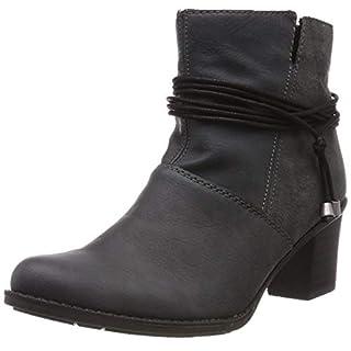 Rieker Damen Z7656 Kurzschaft Stiefel, Grau (Grigio/Blei 45), 36 EU