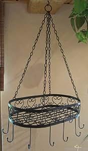 h ngekorb h ngeregal kr uterregal k che regal kr uter. Black Bedroom Furniture Sets. Home Design Ideas