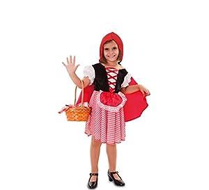 Fyasa Fyasa706032-T00 - Disfraz de Caperucita Roja, pequeño, Color Rojo.