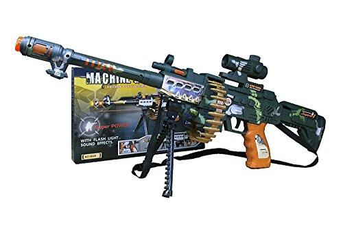 XXL Gewehr Combat Flash SCHTURMGEWEHR Elite mit Sound & Licht Storm Hydro Blaster ca. 85cm!! Mega Lichteffekte - Mega Sound und ()