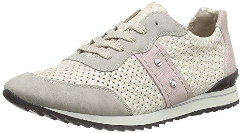 Rieker - 56825, Zapatillas Para Mujer Blancas (weiß (gris / Blanco / Rosa / 40))
