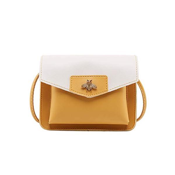 41Uo9t54vtL. SS600  - Luckycat Bolsos De Hombro Bandolera De Piel Bolsa Mano Moda Para Mujer Bolsos Mochilas para mujer Bolsas de mensajero…