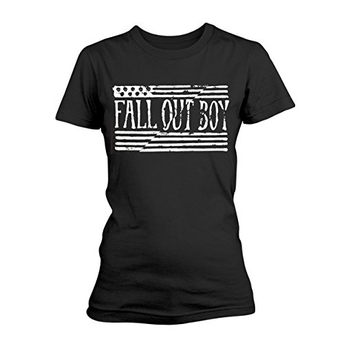 FALL OUT BOY US FLAG GTS - Flag Shirt Out Boy Fall