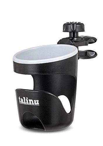 talinu Getränkehalter für Buggy und Kinderwagen | mit 2 Jahren Zufriedenheitsgarantie | Cupholder