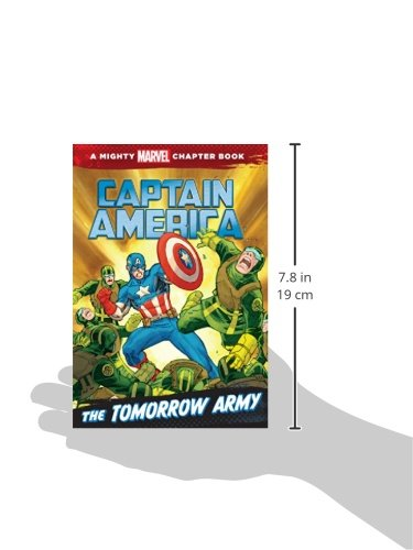 Captain America: The Tomorrow Army: A Marvel Chapter Book (Marvel Heroes Chapter Book)