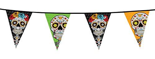 �ckchen 20Flaggen Dia de los Muertos, mehrfarbig (Disney Halloween-dekor)