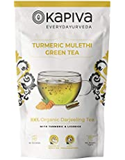 Kapiva Turmerc Mulethi Green Tea 36 bags 72gm