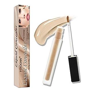 Concealer,Concealer Corrector,Correctores Líquido,Correctores Líquido para Ojeras,Maquillaje corrector corrector hidratante y antiarrugas para todo tipo de ojeras