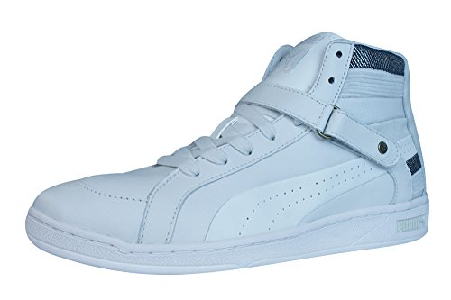 Puma Puma The Key Leder Sneaker Hi weiss Gr. 36 - 41 in Gr. 41 uk 7.5 - Sneaker
