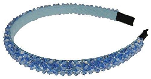 Femmes de luxe en perles cristal incrusté Mariage Formel cas Aliceband Bandeau
