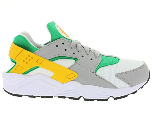 Nike Herren Air Huarache Sneakers Lucid Green/University Gold-Wolf Grey