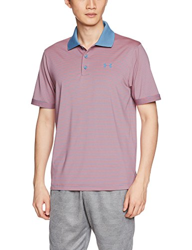 Under Armour Herren Performance Polo Novelty Kurzarmshirt, Vermillion, LG (Polo Lg Performance)