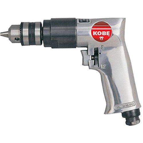 Druckluft-Bohrmaschine umschaltbar 0,5 PS-Motor für Schläuche ab 3/8 (10 mm)