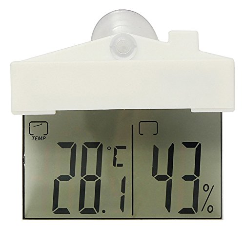 SaySure - Durable Quality LCD Digital Thermometer Hygrometer
