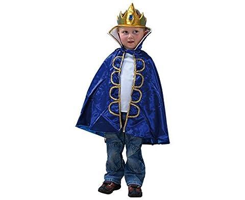 Kinderkostüm König, für Kinder von 3-8 Jahren, Fasching, Rollenspiele, Theater, waschbar - Kinder Faschingskostüm Karnevalskostüm Kinderkarnevalskostüm Verkleidung verkleiden