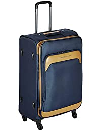 1770c07aba Tommy Hilfiger Polyester 78 cms Navy Softsided Check-in Luggage  (TH/NYK08075 Navy