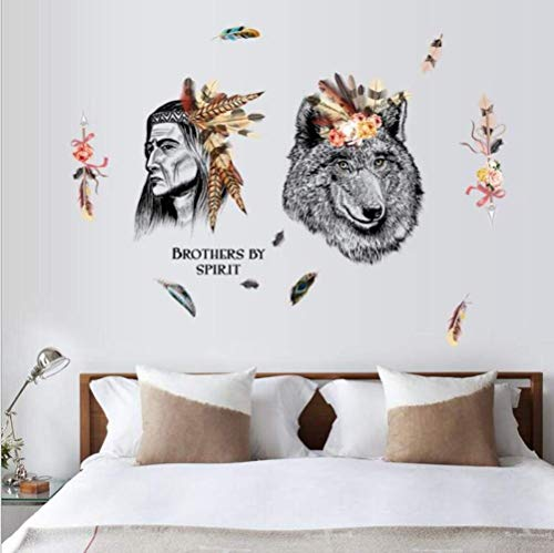 Wandaufkleber Hunter And Bear Abnehmbare TV Sofa Hintergrund Dekorative Aufkleber - Sofa Hunter