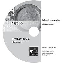 Lesebuch Latein - Oberstufe 2. Lehrerkommentar CD-ROM