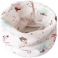 Otoño invierno Niños niñas collar del bebé bufanda de algodón Cuello redondo Bufandas