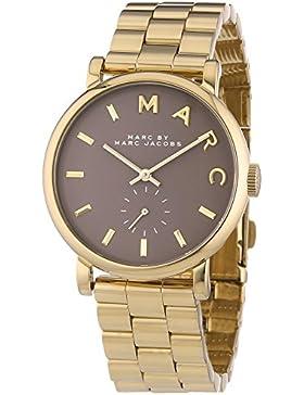 Marc Jacobs Damen-Armbanduhr Analog Quarz Edelstahl MBM3281