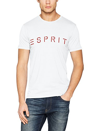 Xxxl Männer T-shirt (ESPRIT Herren T-Shirt 127EE2K048, Weiß (White 100), XXX-Large)