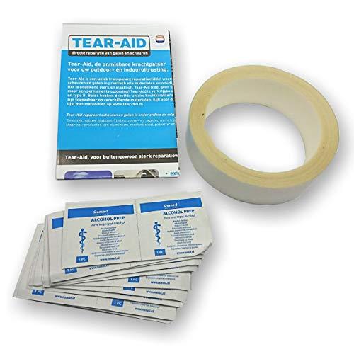 Tear-Aid Reparatur Tape Rolle 3,2cm x 9m Typ B Reparaturmaterial für Vinyl und PVC