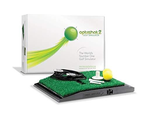 Optishot2- Simulatore Golf, Unisex, Multicolore