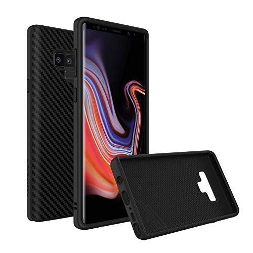 Rhino Shield Premium Case für Note 9 [SolidSuit] | Schock Absorbierende Schutzhülle mit Premium Matt Finish [3,5 Meter Fallschutz] - Carbon Fiber -