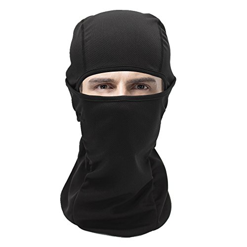 Windproof Motorcycle Neck Warmer Breathable Tactical Balaclava Hood Cycling Headwear In Outdoors