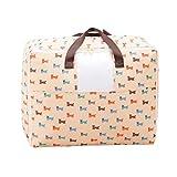 Sentao Aufbewahrungstasche für Bettdecken und Kissen | Trage-Tasche für Bettzeug oder...
