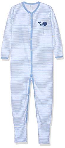 Sanetta Baby-Jungen Overall Strampler, Blau (Blue Sea 5673), 56