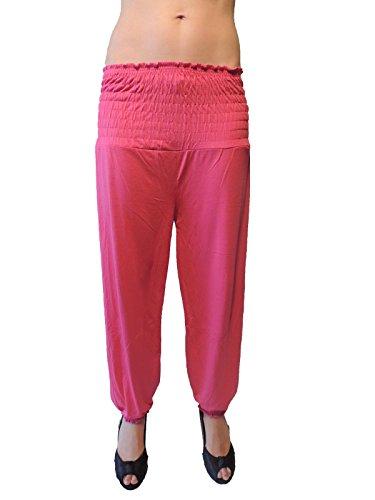 15 verschiedene Farben Damen Pumphosen Gr. 36 38 40 42 44 46 Pink