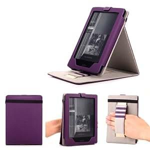 Mulbess kobo aura h2o ereader ebook stand cover housse for Housse kobo aura h2o