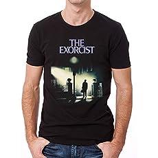El Exorcista – Camiseta Streetlamp para Adultos Unisex (S) (Negro)