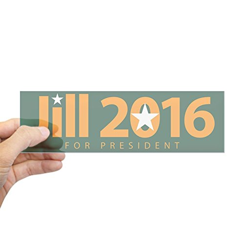 cafepress-jill-2016-for-president-bumper-sticker-10x3-rectangle-bumper-sticker-car-decal