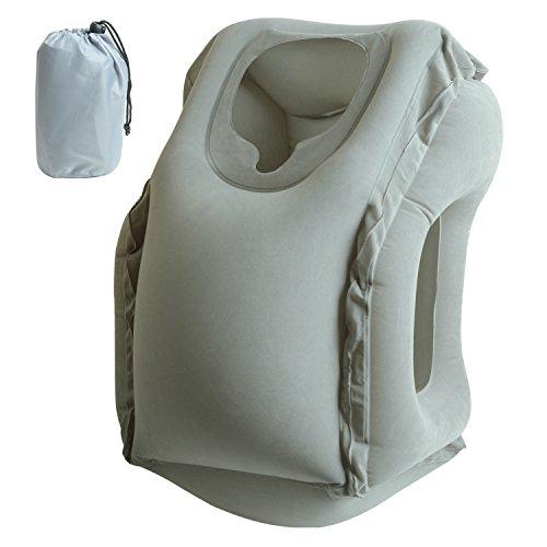 BlueBeach/® Ensemble de 6 Organisateurs de voyage emballant des cubes Sac de blanchisserie Bagage Sacs de compression Sac dans le sac Organisateur pour des v/êtements Gris