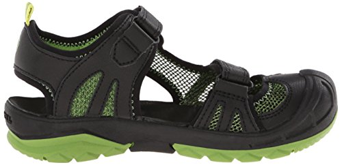 Merrell, Jungen Ml-B Hydro Rapid Sport- & Outdoor Sandalen, Schwarz (Black/Green),31 EU (12 UK) -