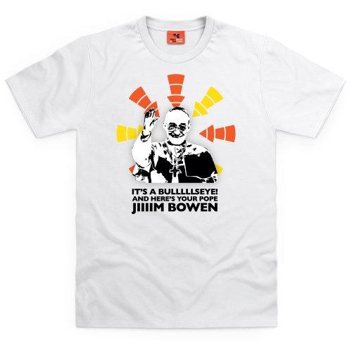 Pope Bowen T-Shirt, Herren Wei