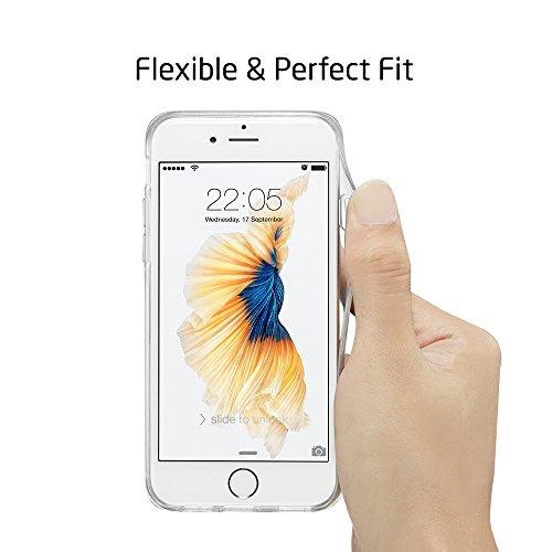 Coque iPhone 6s Plus Mandala, ESR iPhone 6 Plus / 6 S Plus Coque Silicone Transparente Motif Mandala Tribal Fleur Henné Imprimé, Housse Etui de Protection Bumper Premium [Anti Choc] [Ultra Fine] [Ultr Attrape Rêve