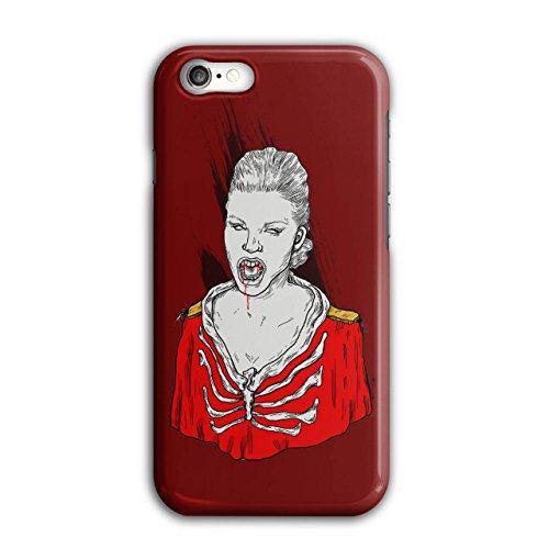 Blut Vampir Cool Horror Mädchen schaurig iPhone 8 Hülle | (Blut Vampir Zubehör Und Sachen)