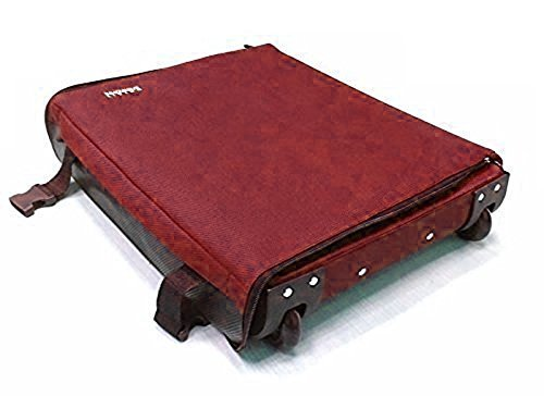 "MareLight , Carrello portavaligie Burgundy 14"" x 8"" x 20"""