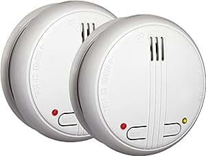 smartwares smarthome funk rauchmelder 2 er set vernetzbar shs 32000 eu baumarkt. Black Bedroom Furniture Sets. Home Design Ideas