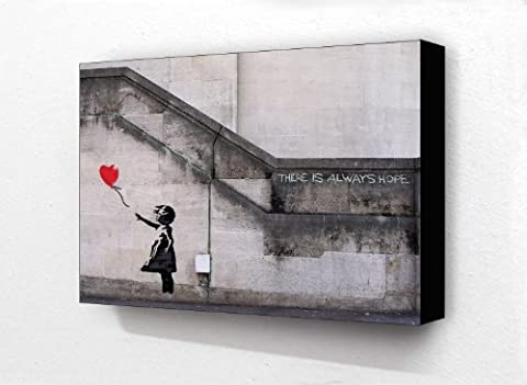 Banksy Graffiti Balloon Girl There Is Always Hope 6 x