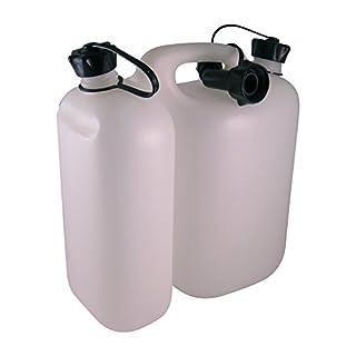 Oregon 562408 Economic Combi-Can, 5+3 litres, Transparent